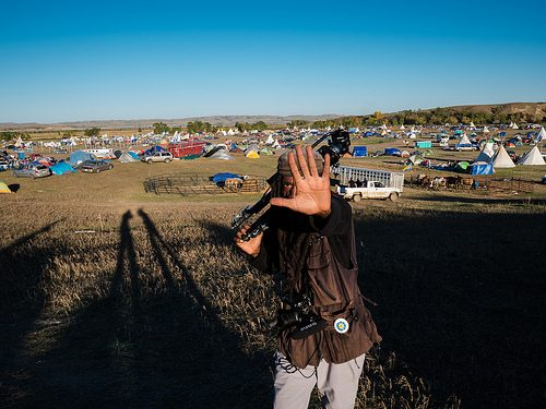 Tom Jefferson at Standing Rock