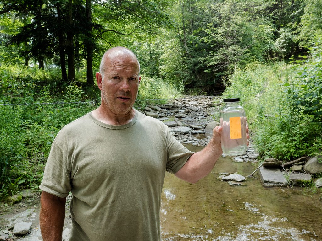 Fracking Drinking Water Complaint Investigation Tioga County