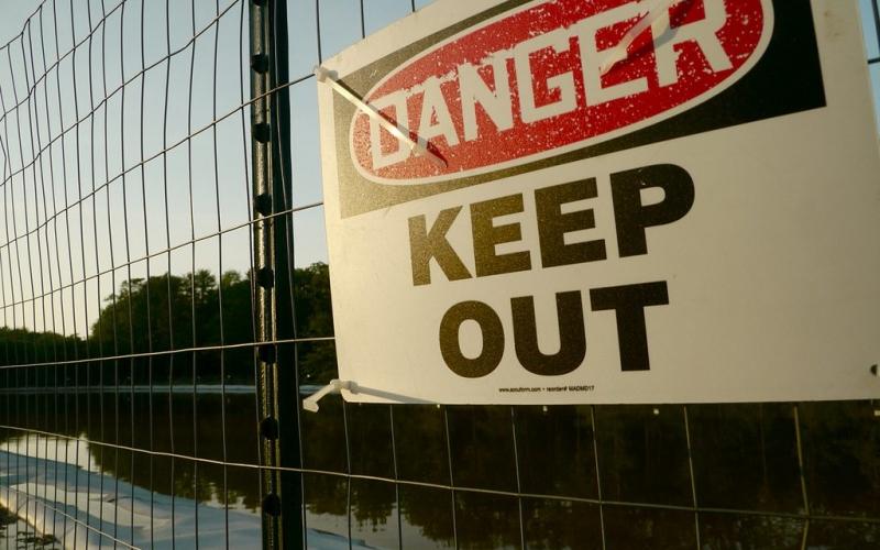 fracking waste water pond